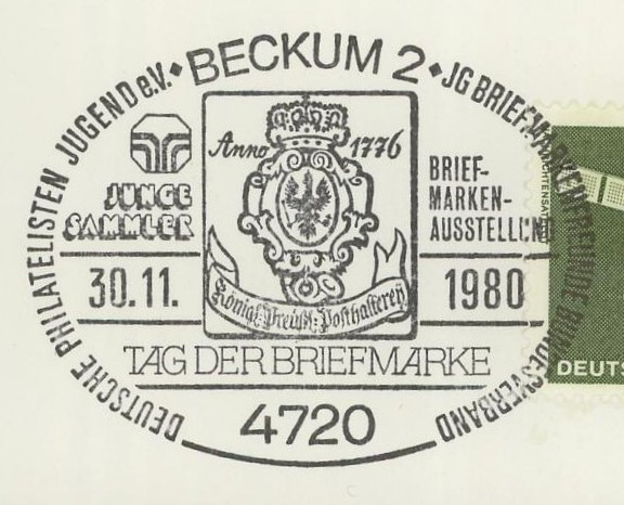 Sonderstempel Tag der Briefmarke Beckum10