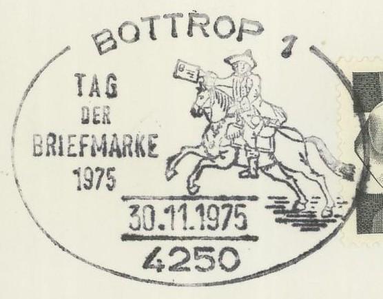 Sonderstempel Tag der Briefmarke Bottro10