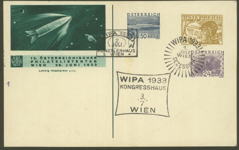 Privatganzsachen zur WIPA 1933 Fp_54_10
