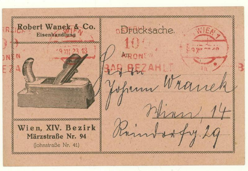 Inflation in Österreich - Belege - 1918 bis 1925 - Seite 7 Hobel_10