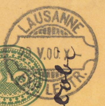 Rasierklingenstempel aus der Schweiz Lausan12