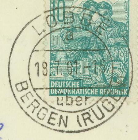 Mecklenburg - Ortsstempel aus Mecklenburg-Vorpommern - Seite 2 Lobbe_10