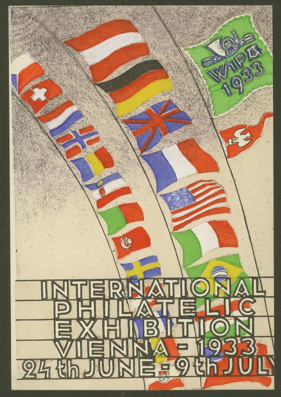 Privatganzsachen zur WIPA 1933 Pp102-14