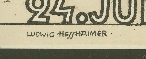 Privatganzsachen zur WIPA 1933 Pp103-10