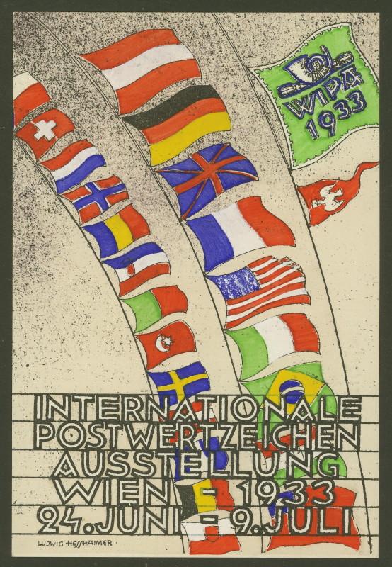 Privatganzsachen zur WIPA 1933 Pp103-15