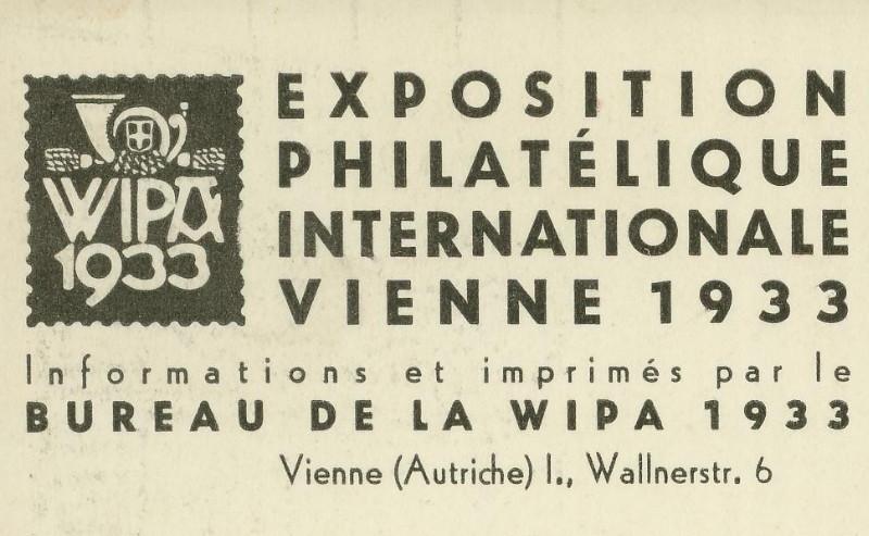 Privatganzsachen zur WIPA 1933 Pp_10311