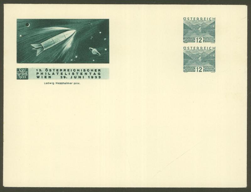 Privatganzsachen zur WIPA 1933 Pu_20410
