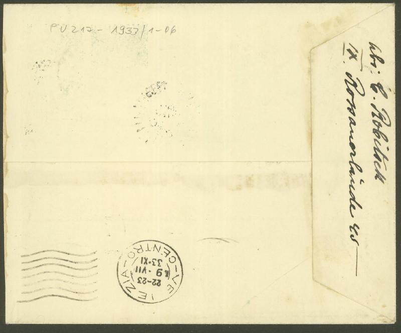 Privatganzsachen zur WIPA 1933 Pu_21710