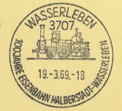 Motiv Eisenbahn im Stempel Wasser10