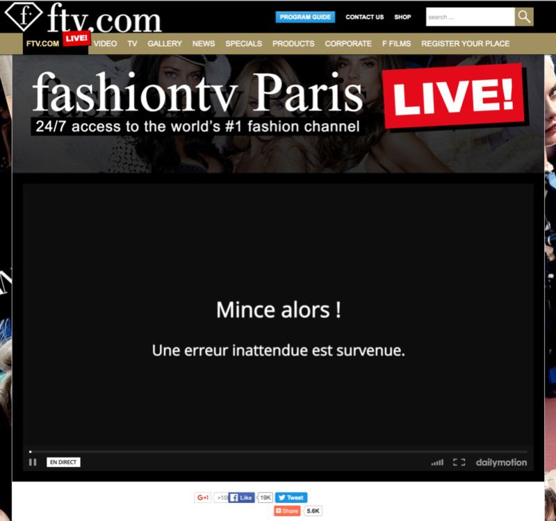 recherche stream exact fashiontv 720p et 1080p Captur11