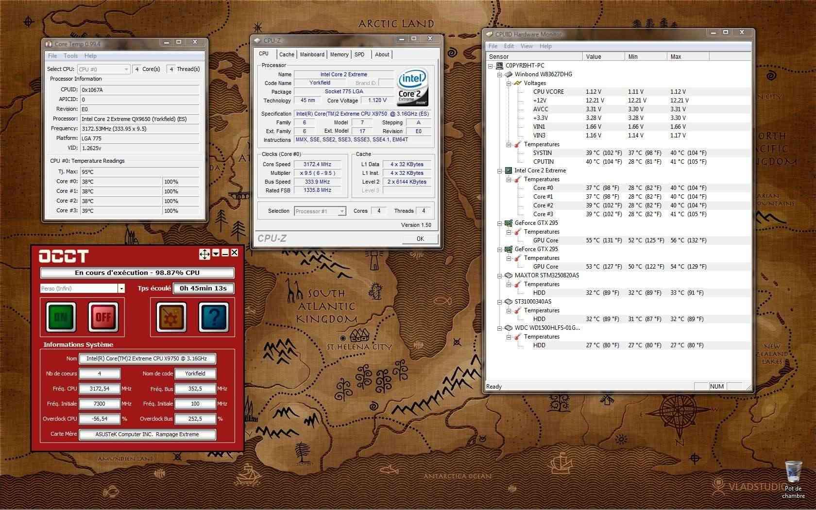[QX9750] Présentation et OC d'un CPU rare 3_2ghz11