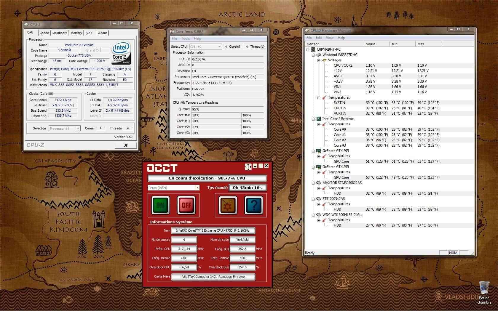 [QX9750] Présentation et OC d'un CPU rare 3_2ghz12