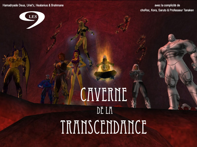 SESSION 10 - CAVERNE DE LA TRANSCENDANCE - PORTFOLIO Sessio15