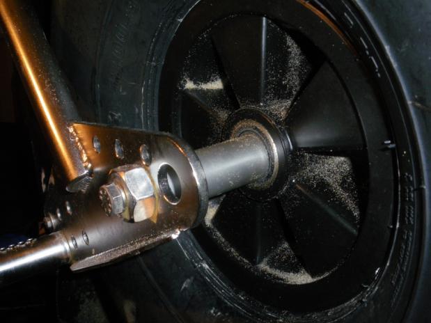 modification axe avant Dragster Axe310