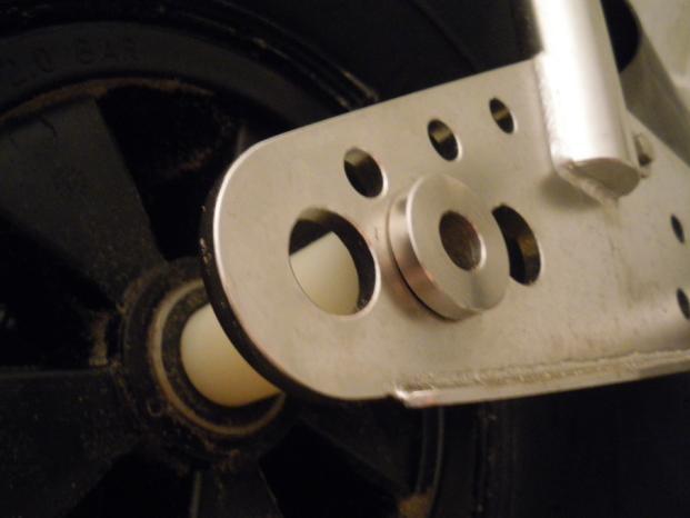 modification axe avant Dragster Axe610