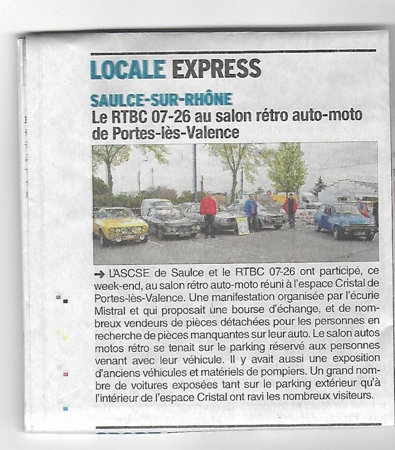 [26] 09 et 10/04/2016 - Bourse salon expo à Portes-les-Valen - Page 2 Crista10