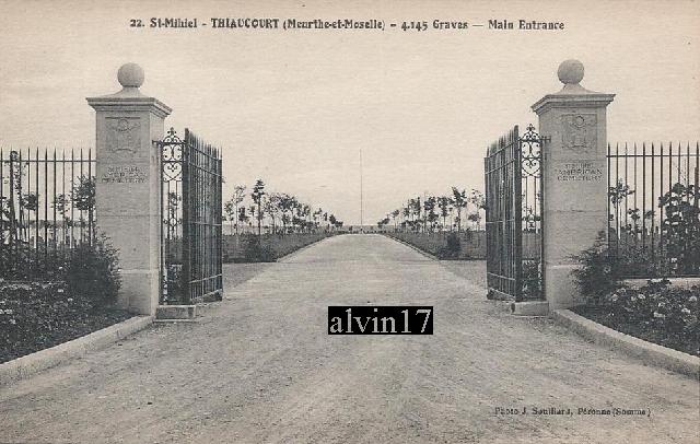 Cimetière américain de Saint Mihiel (Thiaucourt 54) T110