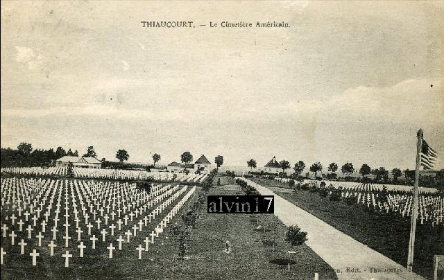 Cimetière américain de Saint Mihiel (Thiaucourt 54) T210