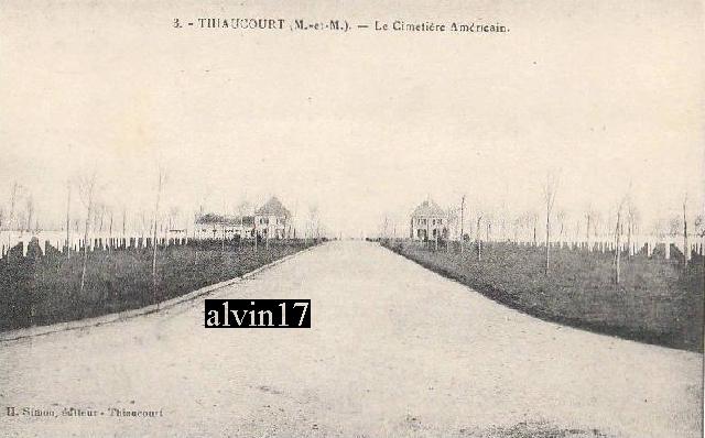 Cimetière américain de Saint Mihiel (Thiaucourt 54) T310
