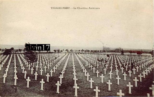 Cimetière américain de Saint Mihiel (Thiaucourt 54) T510