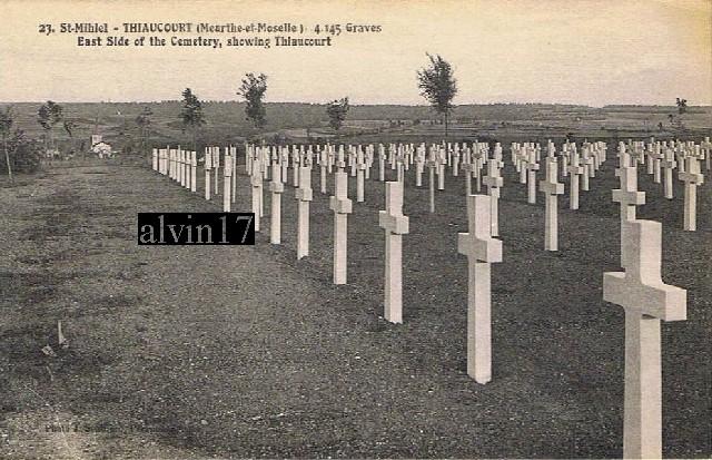 Cimetière américain de Saint Mihiel (Thiaucourt 54) T610