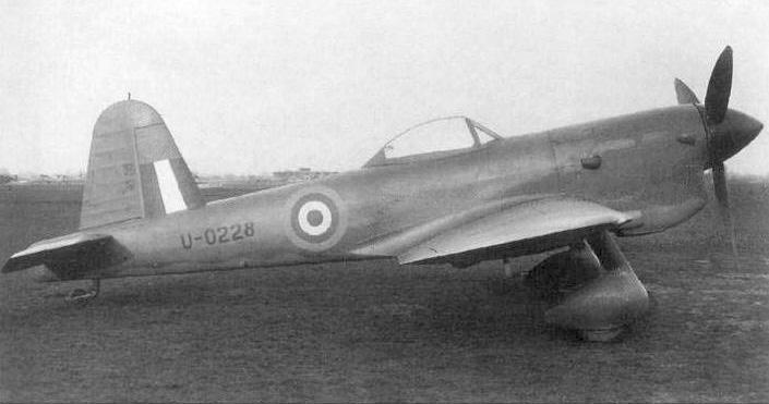 les avions prototypes Miles_10