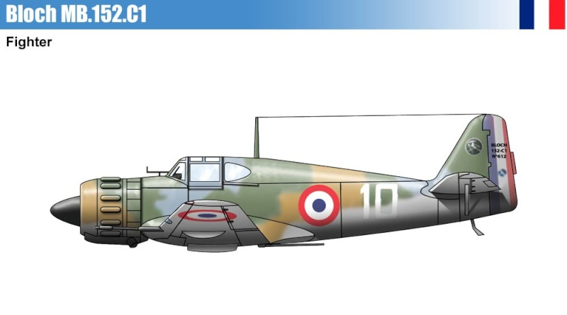 les avions prototypes P110