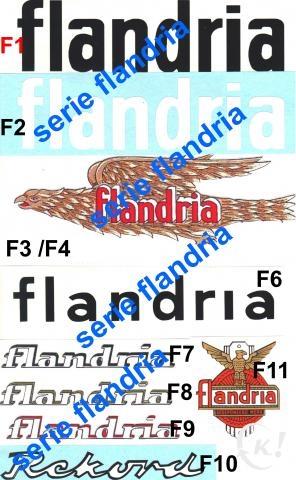 NEW ADHESIF / STICKERS / AUTOCOLLANT FLANDRIA MALAGUTI ROCVALE ETC.. Flandr10