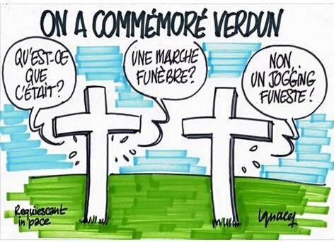 Hollande vient de cracher sur les tombes de nos poilus, qu'il soit maudit ! 13315210