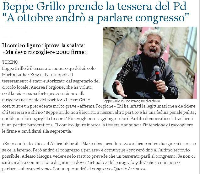 Grillo ..........o no Grillo Grillo10