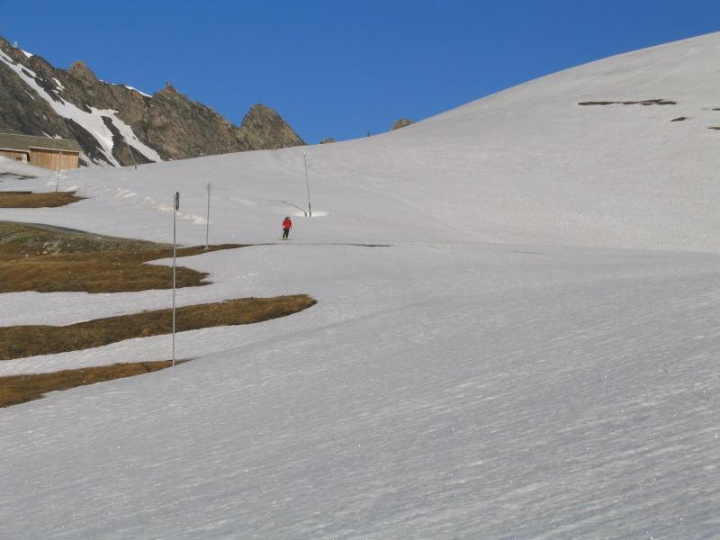 Col de l'Ouille Noire à skis, samedi 13 juin 2009 2009_012