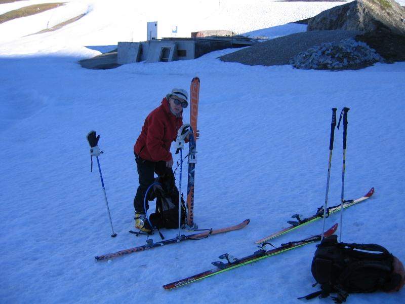 Col de l'Ouille Noire à skis, samedi 13 juin 2009 2009_013