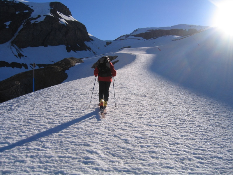 Col de l'Ouille Noire à skis, samedi 13 juin 2009 2009_014