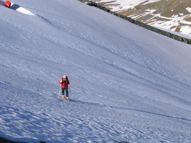 Col de l'Ouille Noire à skis, samedi 13 juin 2009 2009_018