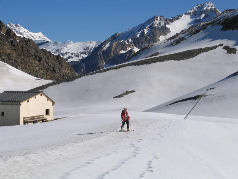 Col de l'Ouille Noire à skis, samedi 13 juin 2009 2009_021
