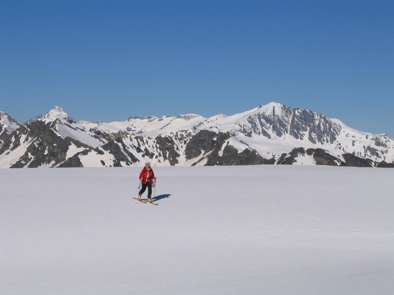 Col de l'Ouille Noire à skis, samedi 13 juin 2009 2009_023