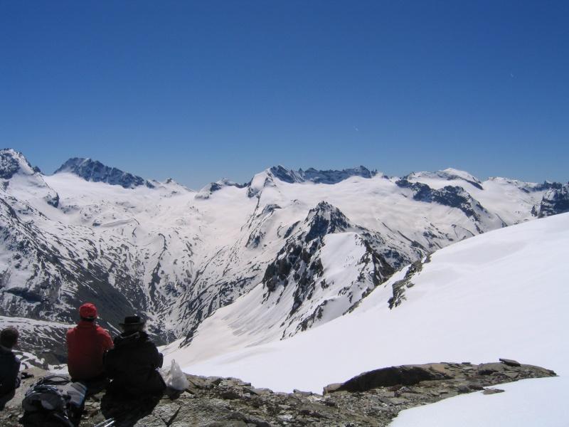 Col de l'Ouille Noire à skis, samedi 13 juin 2009 2009_029