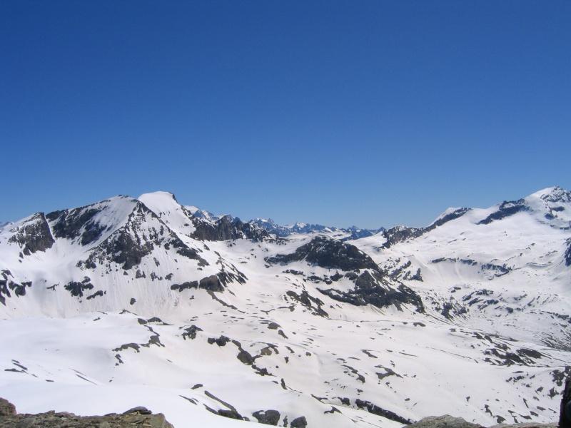 Col de l'Ouille Noire à skis, samedi 13 juin 2009 2009_030