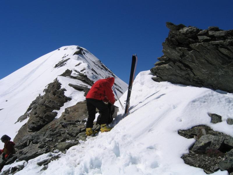 Col de l'Ouille Noire à skis, samedi 13 juin 2009 2009_031