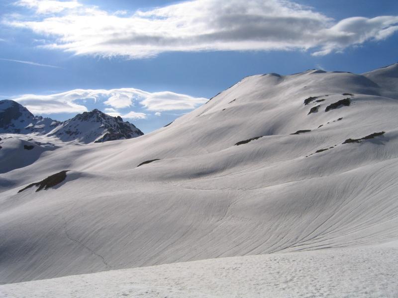 Pointe Nord de Bézin à skis, dimanche 14 juin 2009 2009_043