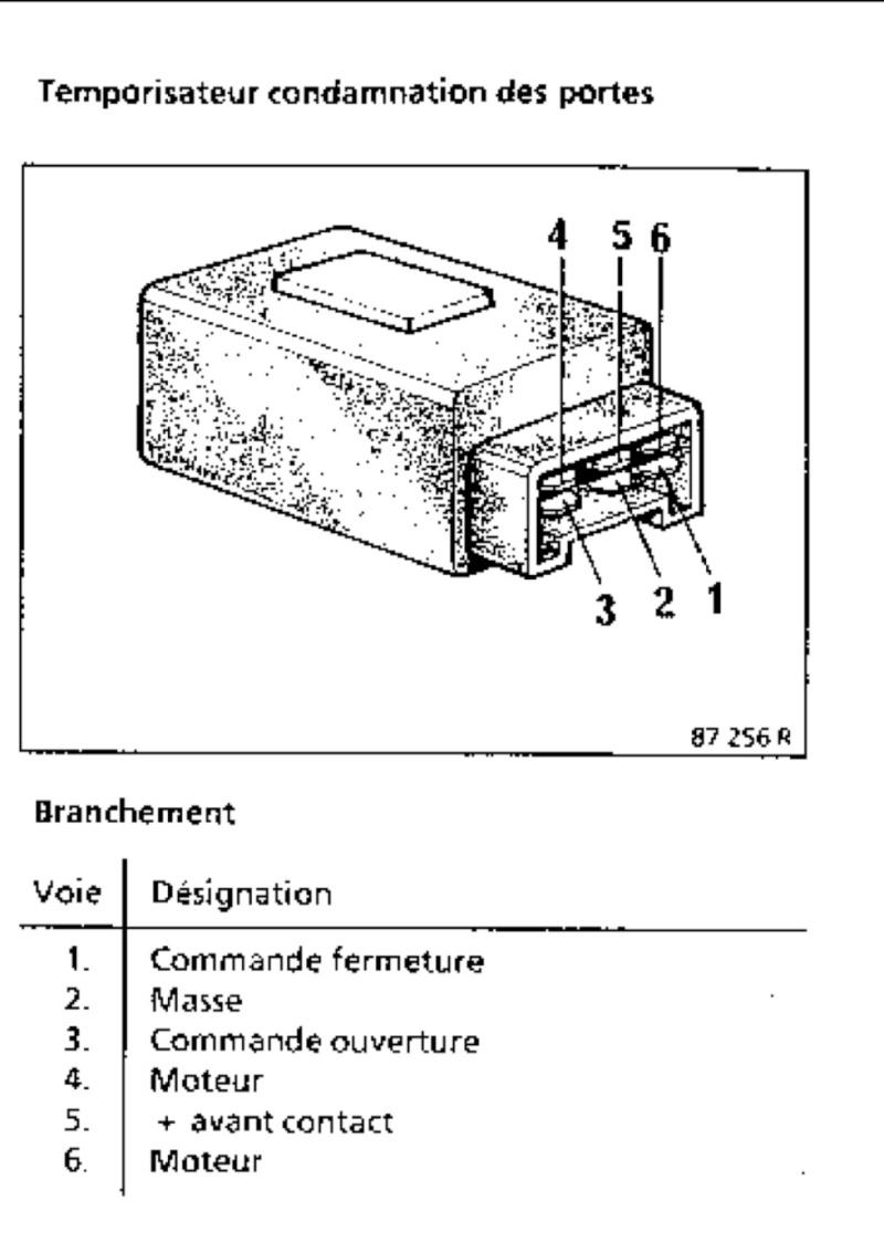 help : recherche schéma électrique centralisation de renault 25 Image12
