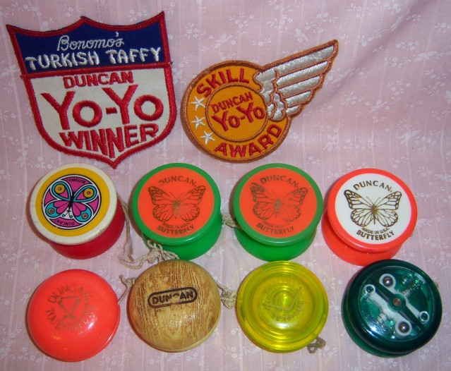 [CONCLUSA PERSA] ebay 150364325346 Vintage Yo-yo,10, Duncan+Patches.Butterfly,Imperial+ 100_4310