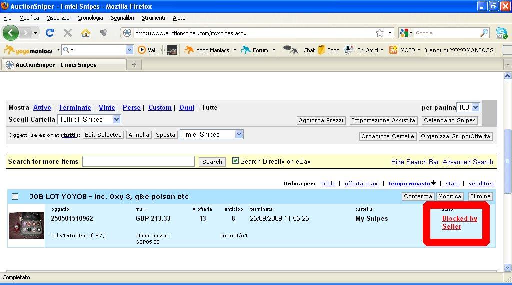 [CONCLUSA PERSA] ebay JOB LOT YOYOS - inc. Oxy 3, g&e poison etc  (25 Sep, 2009 10:55:25 BST) - Pagina 2 25050110