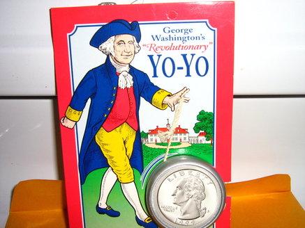 [ACQUISTATO] compralo subito: George Washington YO-YO 280335961638 28033510
