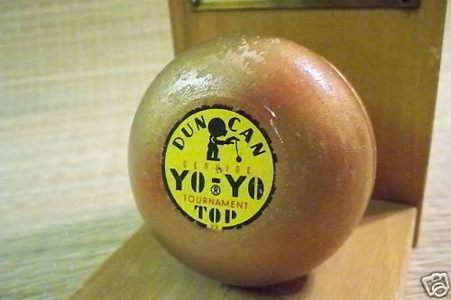 1949 DUNCAN YO-YO Contest Champion Trophy Bdeffp10