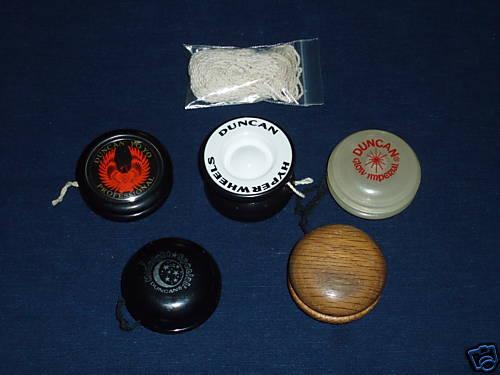 [CONCLUSA NON PARTEC.] Ebay 150372319011 Duncan Yo-Yo lot (5 yo-yos plus extra strings)  (Sep 18, 200913:11:13 PDT) Bqvngw10