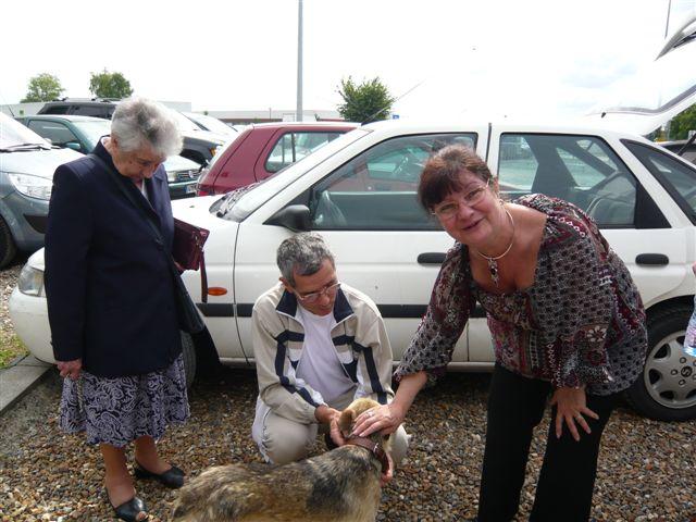 REmerciements aux bénévoles faisant les voyages en Roumanie P1020126