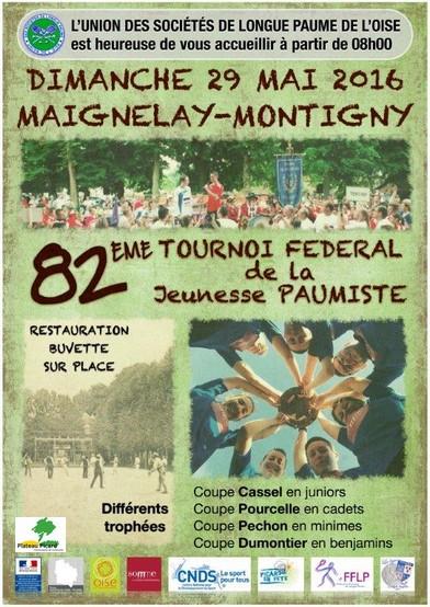 Tournoi Fédéral de la Jeunesse Paumiste 2016 Cassel10