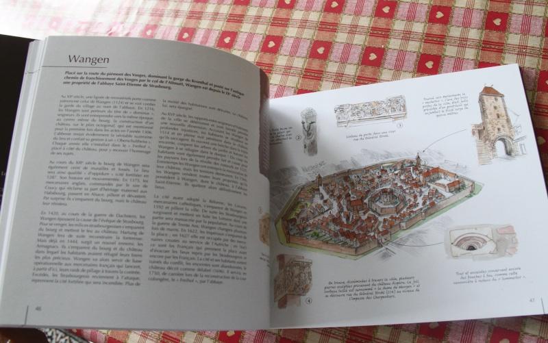 """La """"ville"""" de Wangen  avant la guerre de trente ans, imaginée et illustrée par Christophe Carmona Img_3923"""