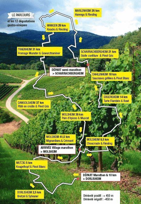 12ème édition du Marathon du vignoble d'Alsace et son passage à Wangen le 19 juin 2016  Relais10